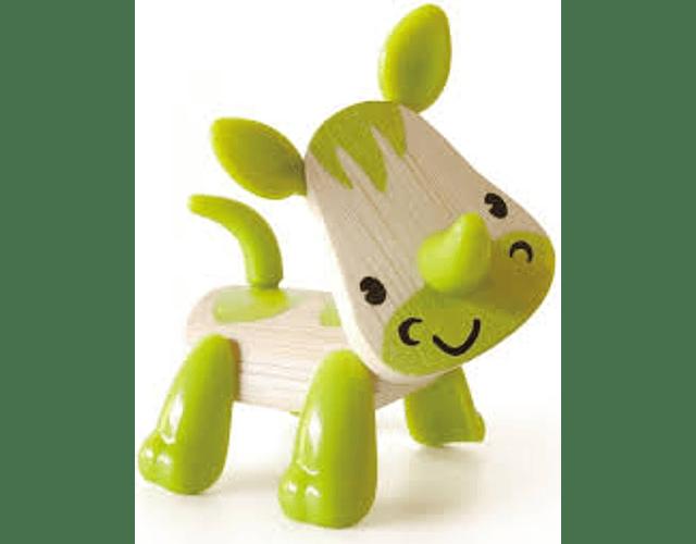 Rinoceronte de bambu