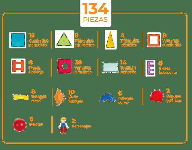 Imanix Tobogán 134 piezas