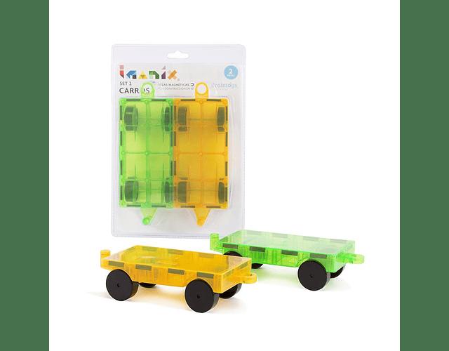 Imanix Set de 2 carros