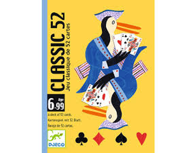 Juego de cartas Classic 52