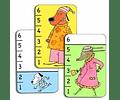 Juego de cartas Bata Waf