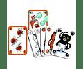 Juego de cartas Sakapuss