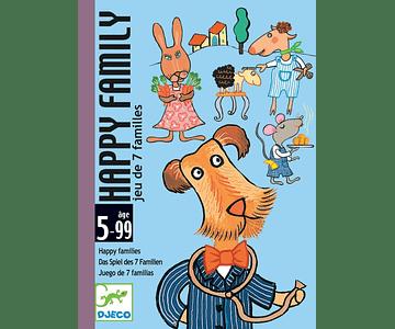 Juego de cartas Happy family