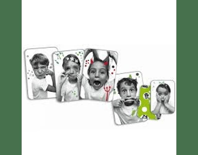 Juego de cartas Grimaces