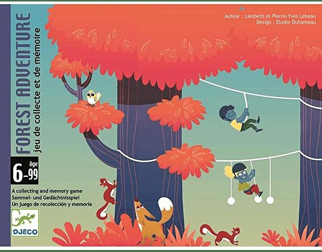 Juego de cartas Forest Adventure