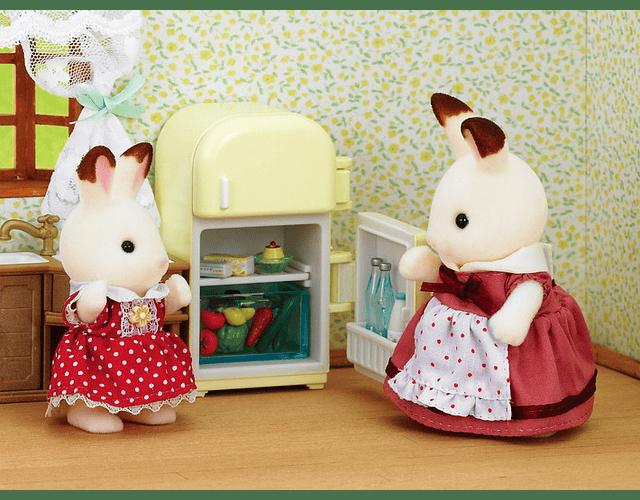 Set Refrigerador Mamá Coneja Chocolate