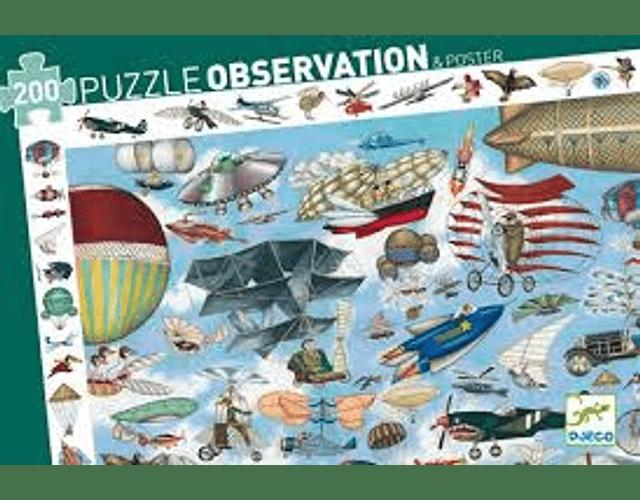 Puzzle Observación Aero club 200 piezas