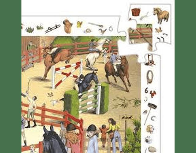 Puzzle Observación Caballos 200 piezas