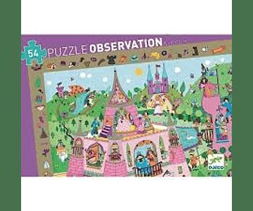 Puzzle Observación Princesas 54 piezas
