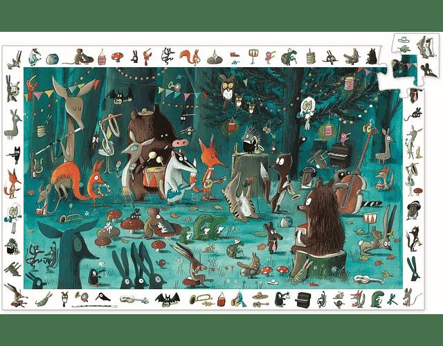 Puzzle Observación La orquesta 35 piezas