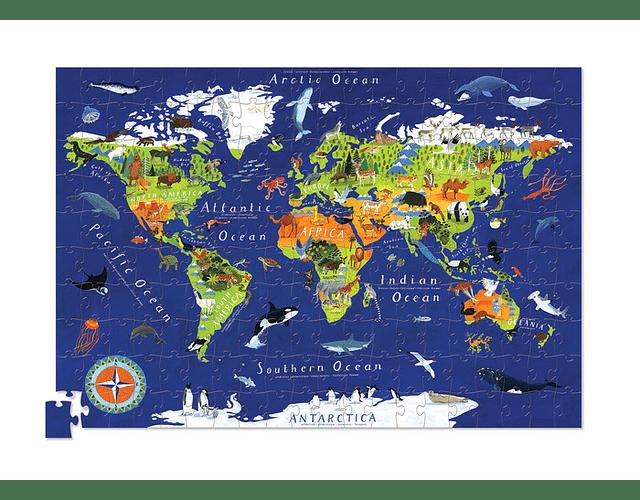 Puzzle Mundo 200 piezas