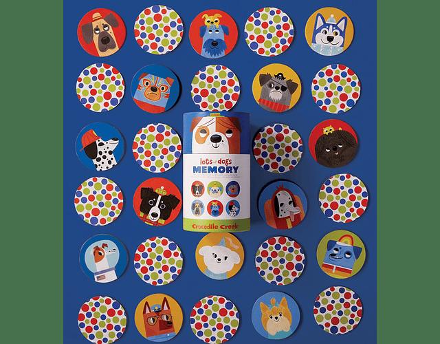 Memorice perros 36 piezas
