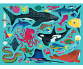Puzzle Animales marinos 500 piezas