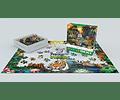 Puzzle El edén del Tigre 500 piezas