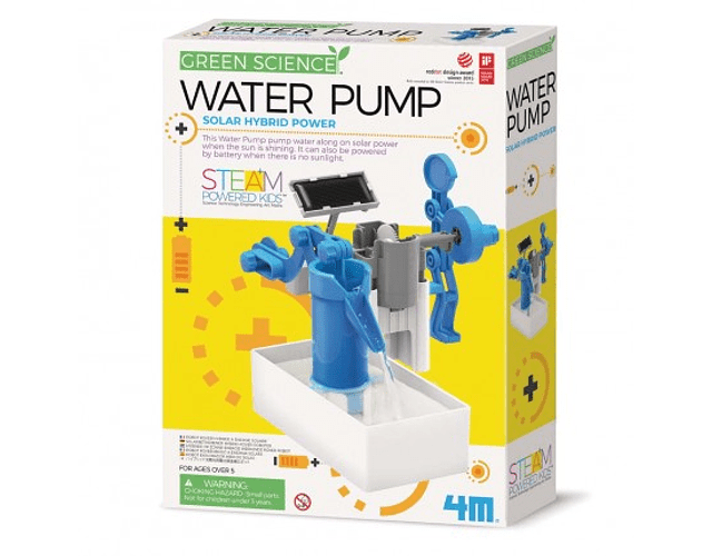 Bomba de agua Solar Híbrido Eco Ingenieria
