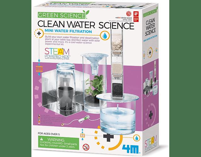 Ciencia purificación agua