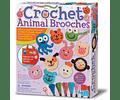 Broche de Animales a Crochet