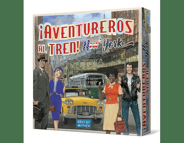 ¡Aventureros al Tren! New York (Español)
