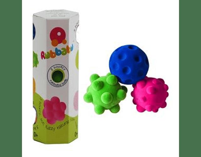 Set 3 pelotas sensoriales