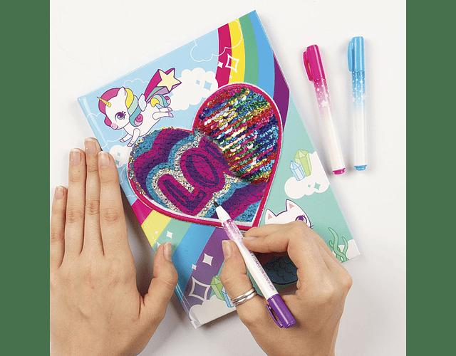 Magic Sequin Journal & Patch Design Kit