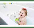 Barrera bañera para tu bebé