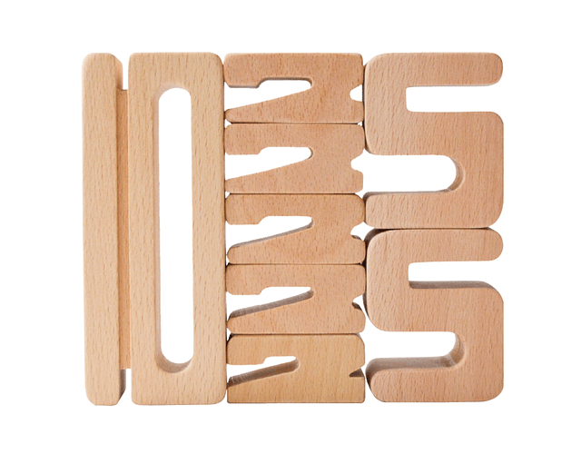 Woodis números Set Educacional