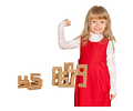 Woodis números Set 14 piezas
