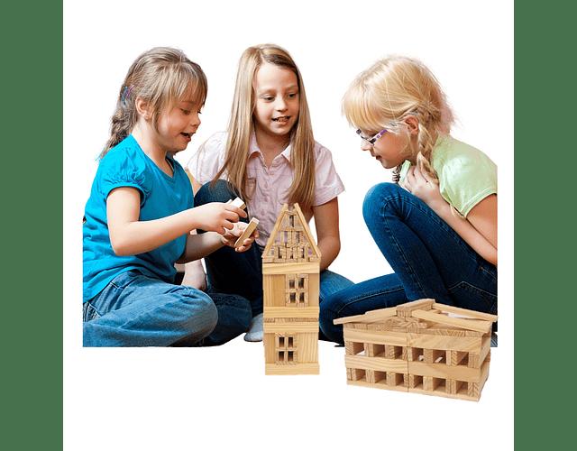 Woodis Arquitecto Set grande ( 150 piezas )