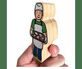 Woodis Personas Cuando grande seré ( Set 2 -  10 piezas )