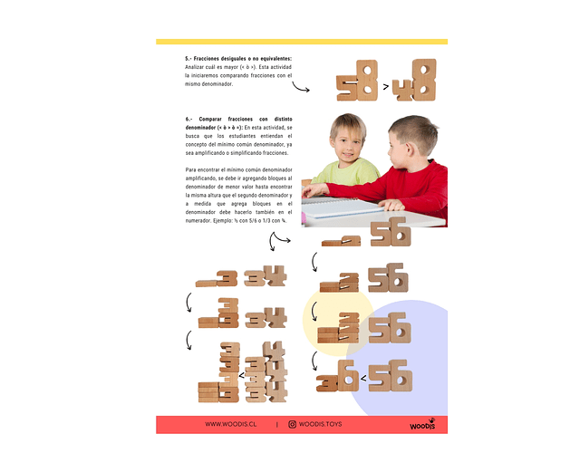 Woodis Números Manual de uso
