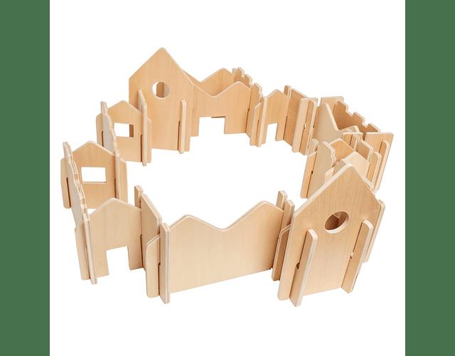 Woodis Constructor Natural Grande ( 28 piezas )