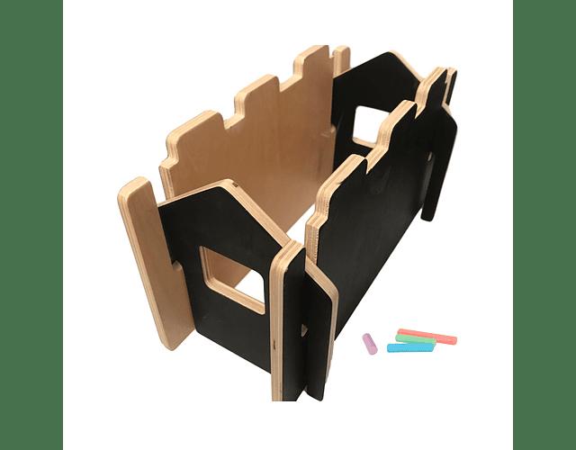 Woodis Constructor Pizarra Chico ( 14 piezas )