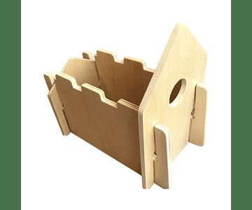 Woodis Constructor Natural Chico ( 14 piezas )
