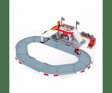 Pista - Estación de carreras
