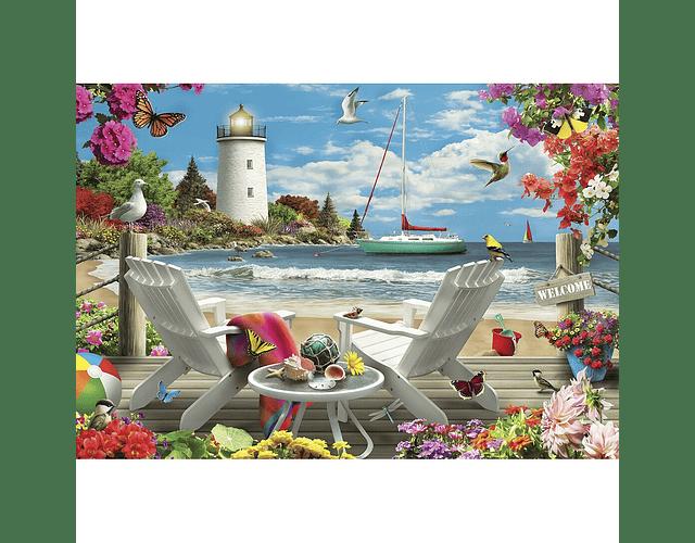 Puzzle Coastal Escape 2000 piezas