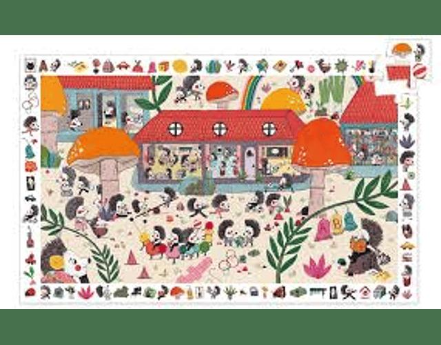 Puzzle Observación La escuela de erizos 35 piezas