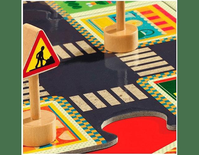 Puzzle Gigante en la ciudad 24 piezas