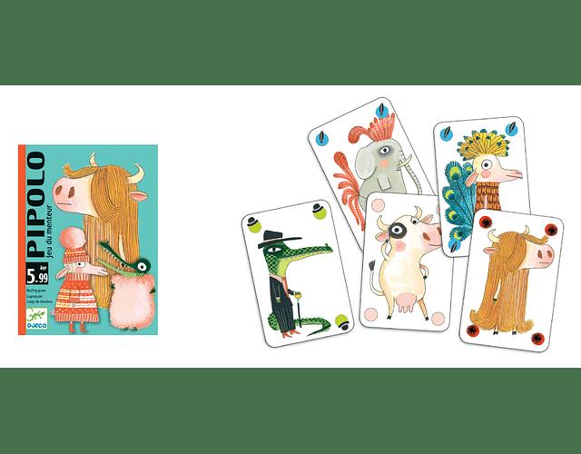 Juego de cartas Pipolo