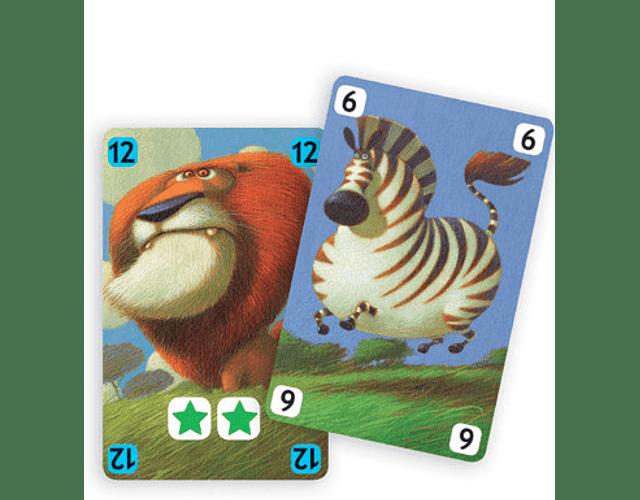 Juego de cartas Savana