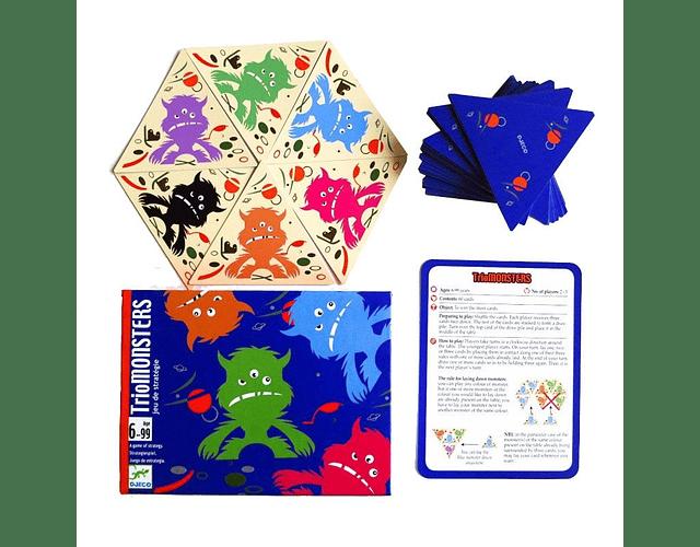 Juego de cartas TrioMonster