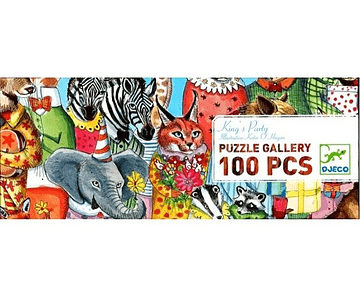 Puzzle Kings Party 100 piezas