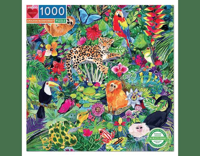 Puzzle Amazon Rainforest 1000 piezas