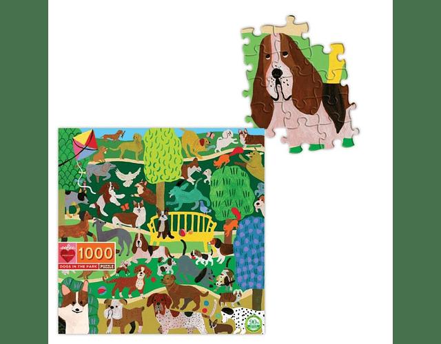 Puzzle Perros en el Parque 1000 piezas