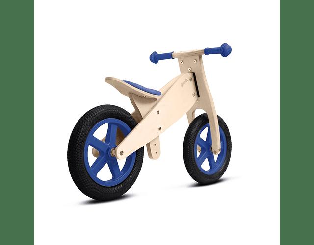 Bicicleta clásica azul