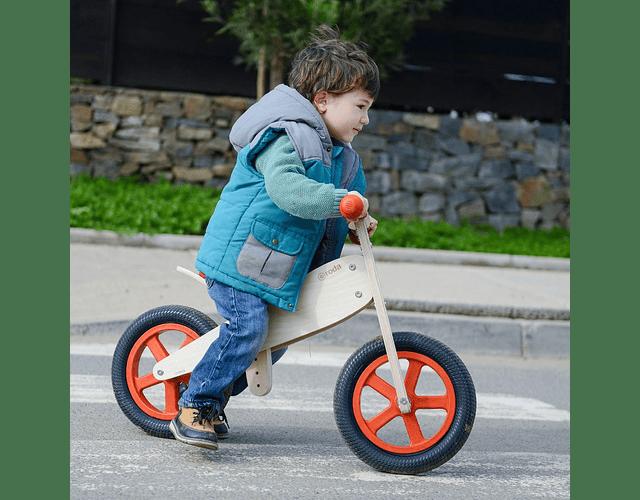 Bicicleta clásica roja