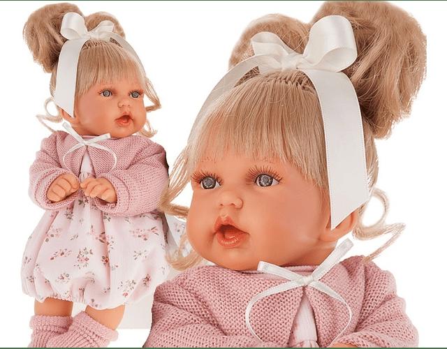 Muñeca Petit con coleta
