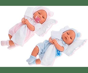 Muñecos Bimbo y Bimba cojín