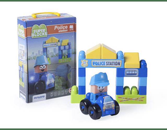 Super Blocks Police Station