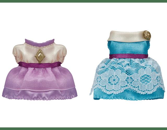 Set de vestidos (Lavanda y Agua Marina)