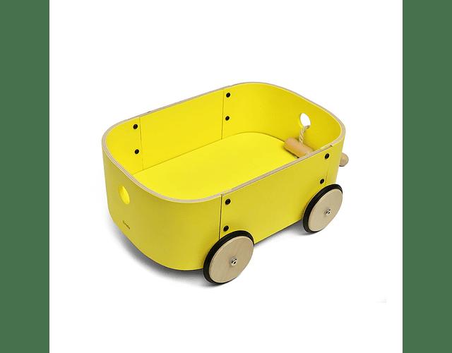 Carro Lupe Amarillo